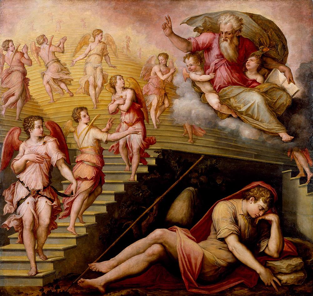 Vasari, Jacob's Dream, 1557-58
