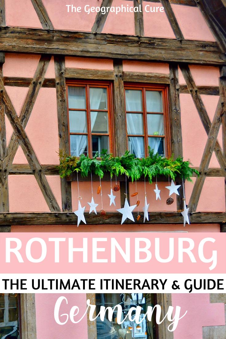 Germany's prettiest city -- Rothenburg ob der Tauber in Bavaria