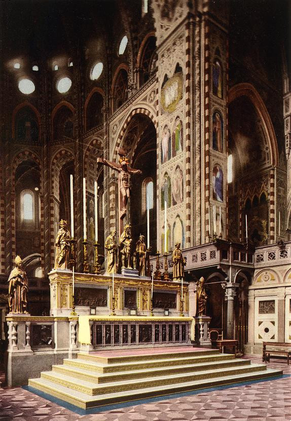 high altar of the Basilica of St. Anthony in Padua