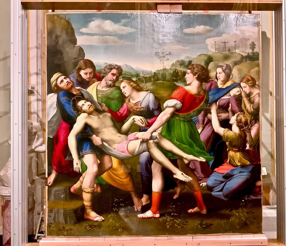 Raphael, Deposition, 1507