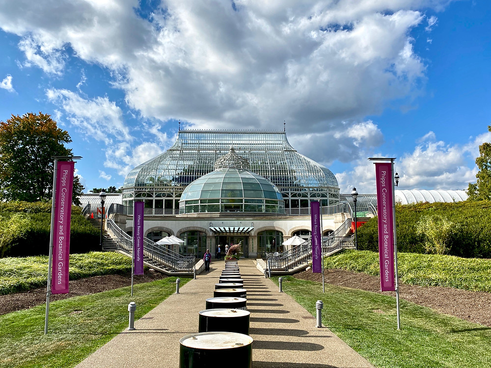 "the ""crystal palace"" that is Phipps Conservatory"