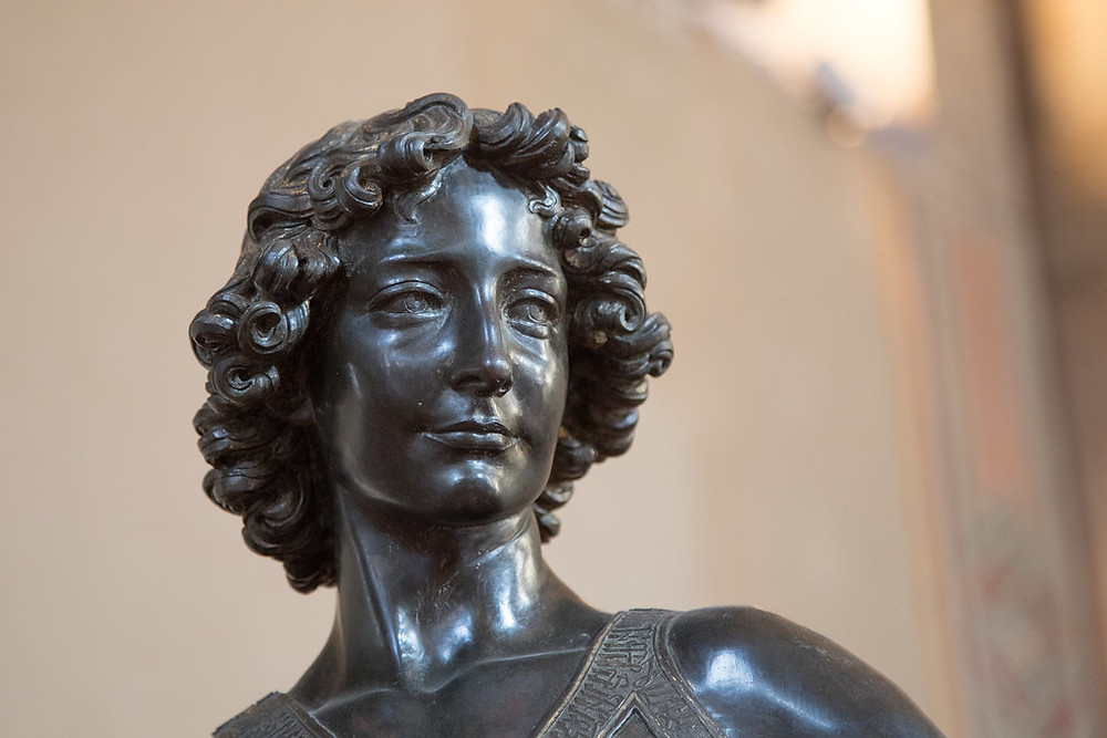 Verrocchio's David sculpture in the Bargello Museum, a must see site in Florence