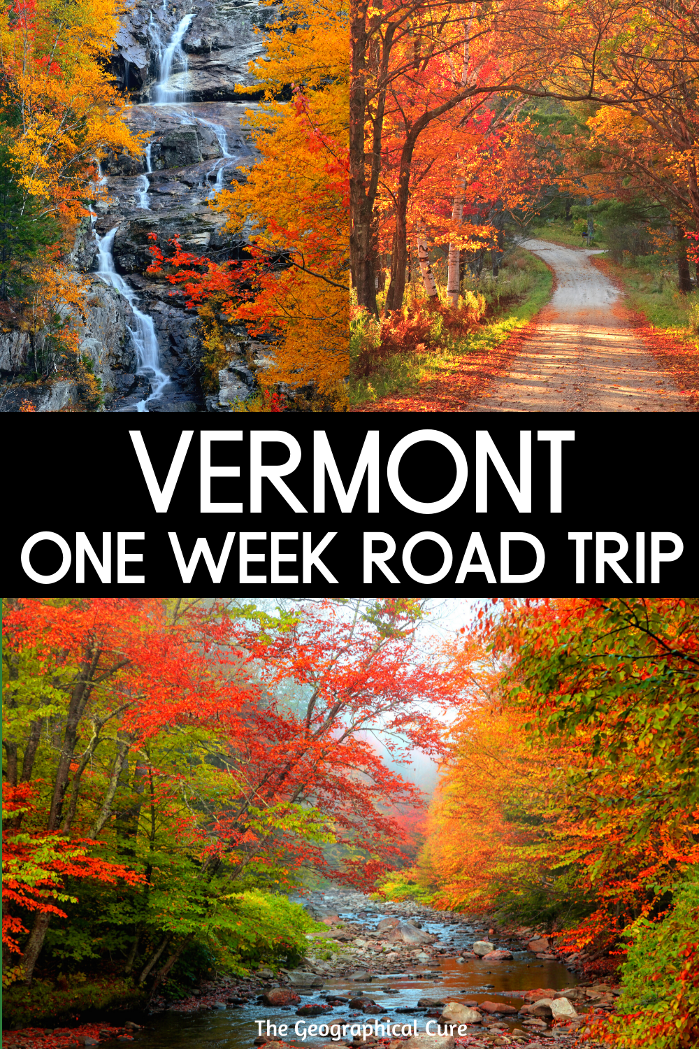 Perfect 1 Week Road Trip in Vermont USA