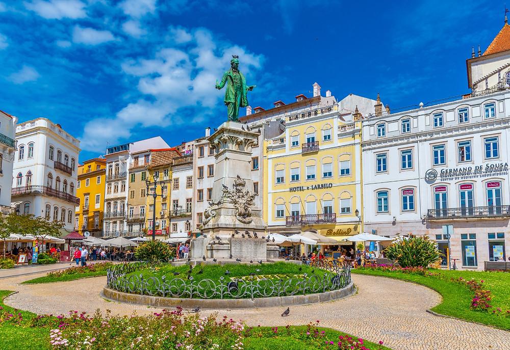 Portagem Square in Coimbra