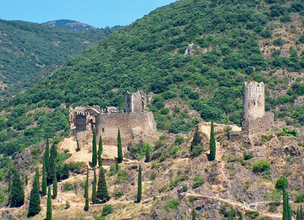 the Cathar Castles of Lastours France