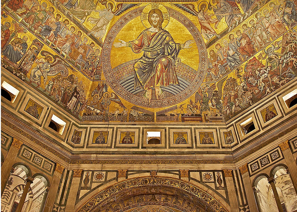 Florence Baptistery, The Last Judgment mosaic