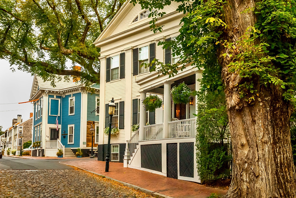 the idyllic town of Nantucket