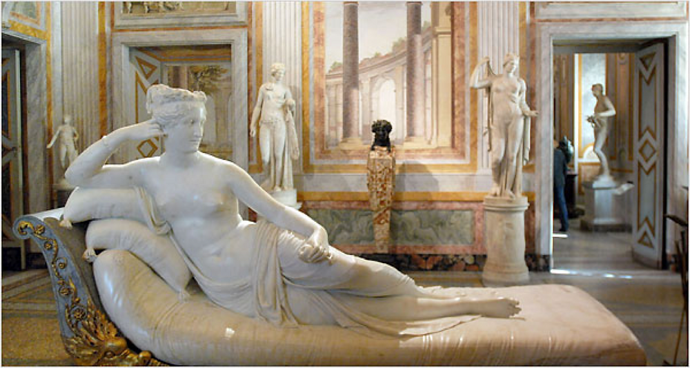 Antonio Canova, Paulina Bonaparte as Venus Victrix, 1805-08