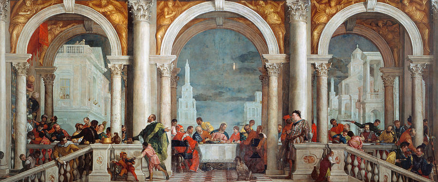 Paolo Veronese, The Feast in the House of Levi, 1573