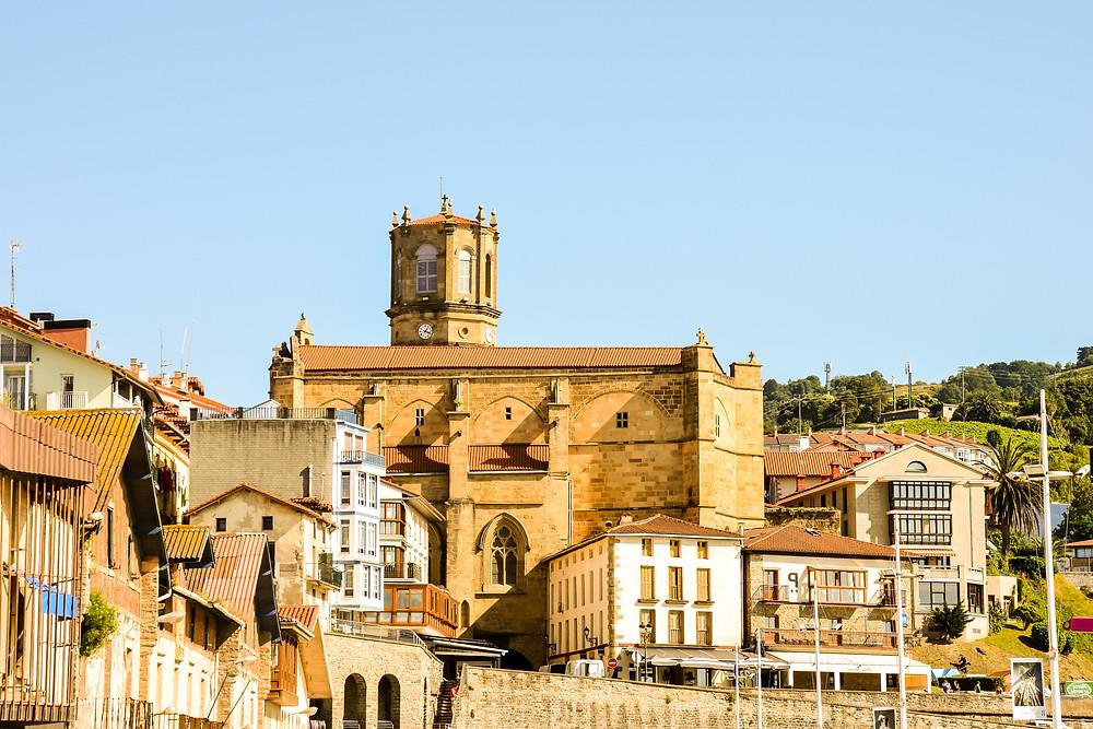 historic center of Getaria