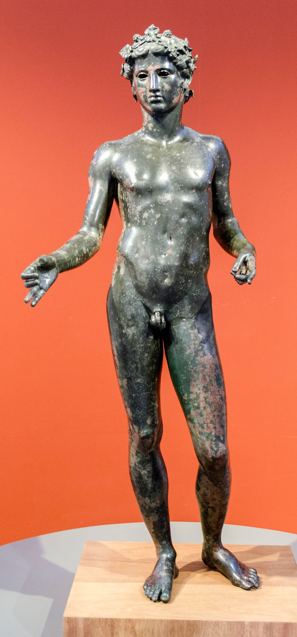 Ephebe of Antequera, a bronze statue from the 1st century A.D. in the Antequera Municipal Museum