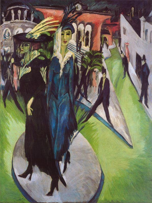 Potsdamer Platz, 1914, Ernst Ludwig Kirchner