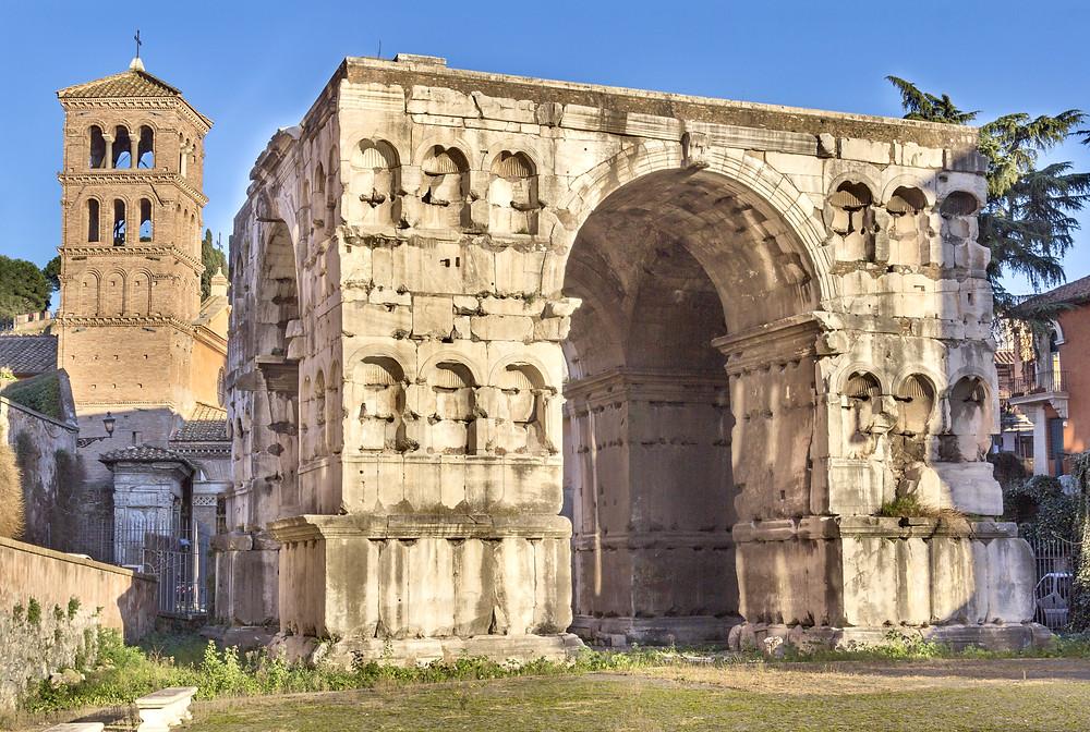 Arch of Janus in the Forum Boarium