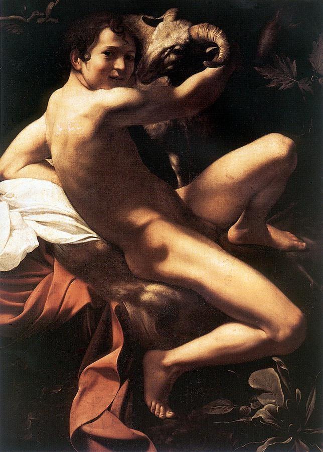 Caravaggio, John the Baptist, 1602