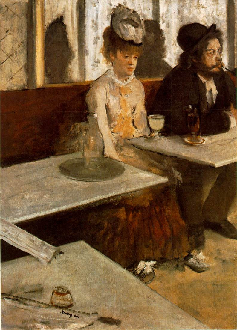 Edgar Degas, The Absinthe Drinker, 1876