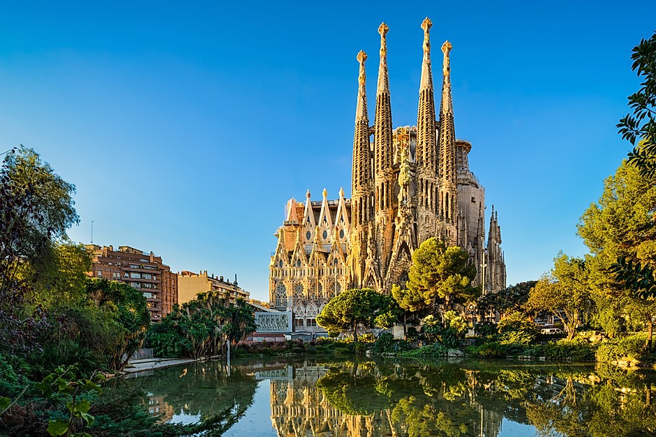 Sagrada Familia, a must see Gaudi site in Barcelona