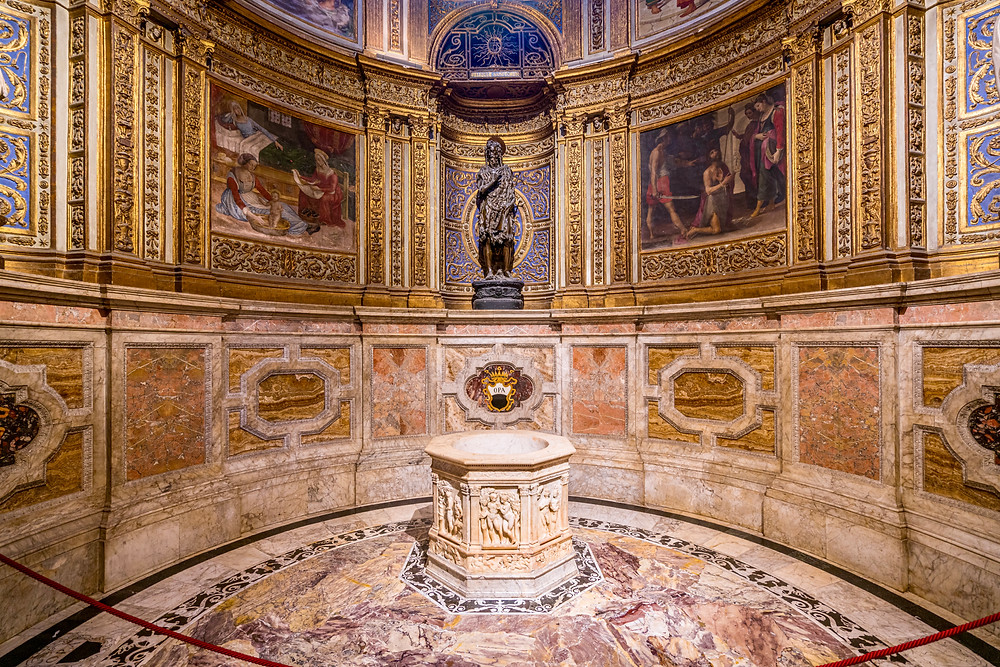 Donatello sculpture of St. John the Baptist