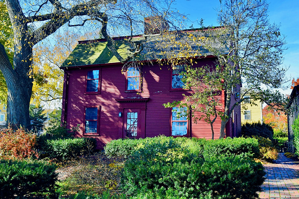 Nathaniel Hawthorne's birthplace in Salem