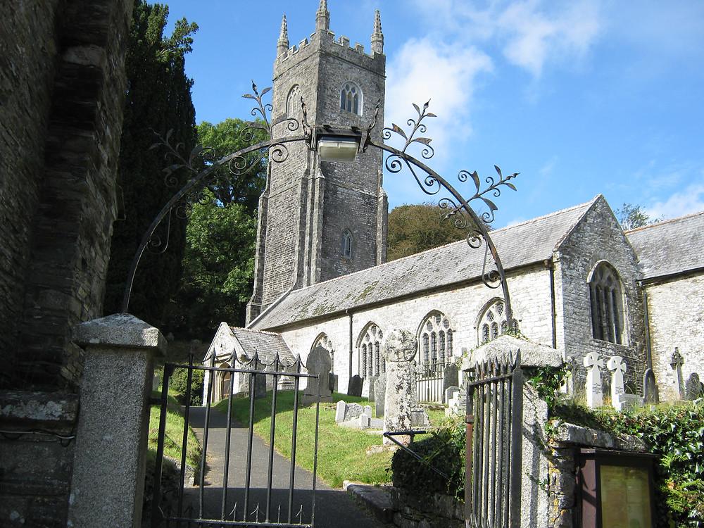St Nonna's Church, in Altarnun on Bodwin Moor in Cornwall England