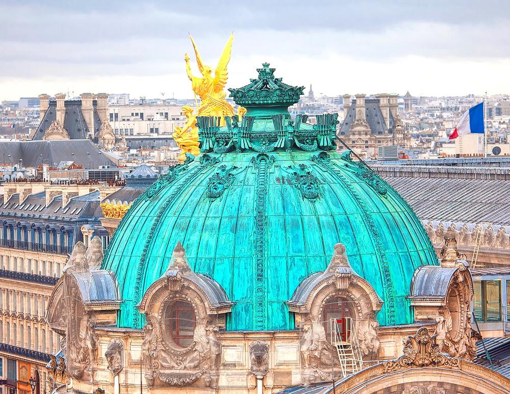 dome of the Opera Garnier
