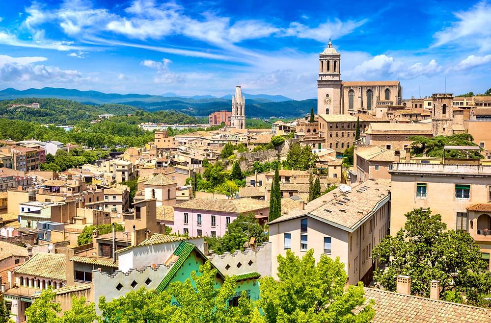 cityscape of Girona