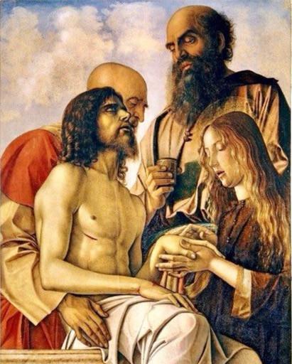 Giovanni Bellini, The Lamentation Over the Dead Christ, 1473-76
