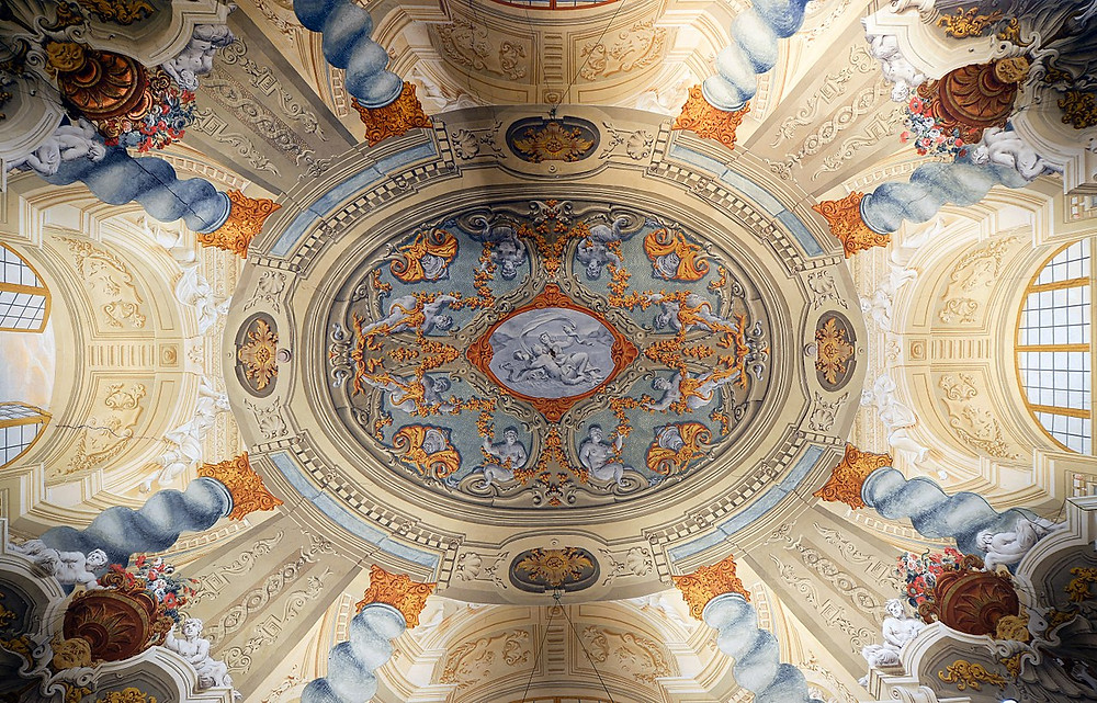 ceiling in the Doria Pamphilj