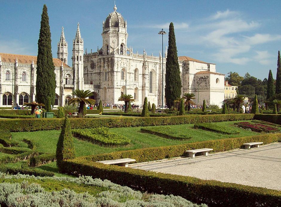 Jeronimos Monastery in Belem