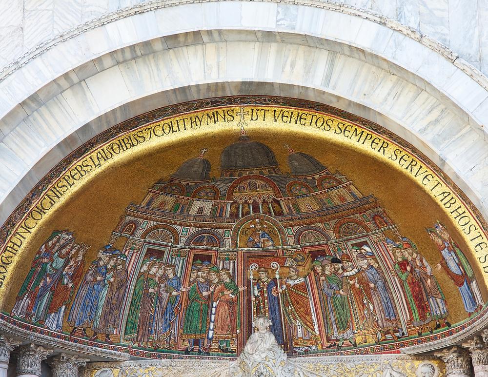 facade mosaic