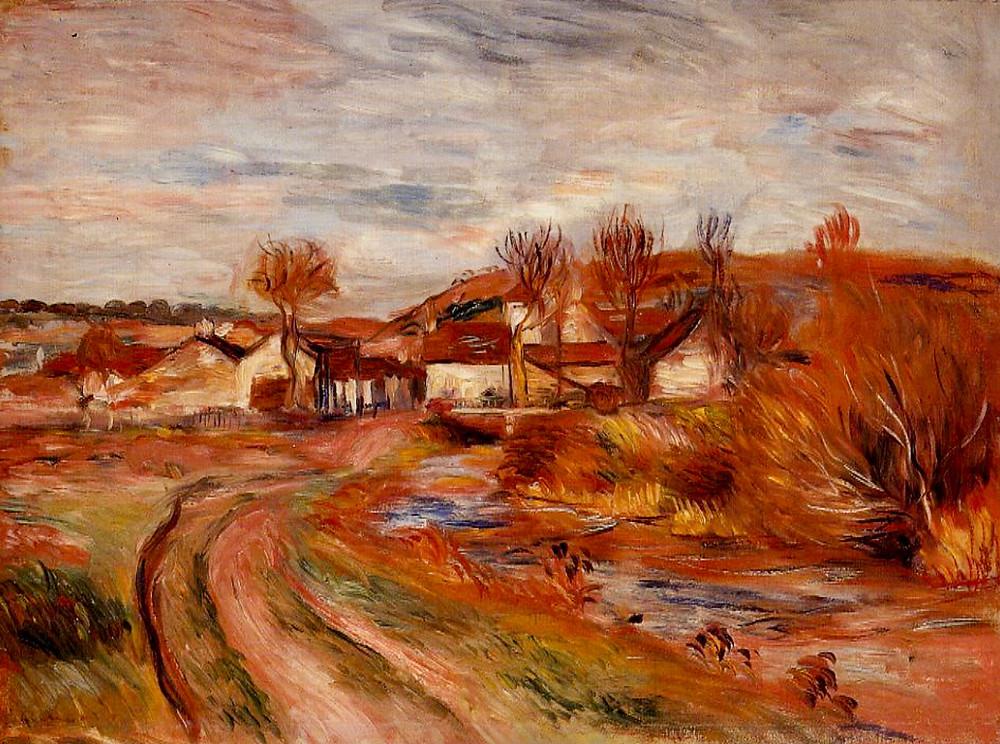 Renoir, Landscape in Normandy, 1895