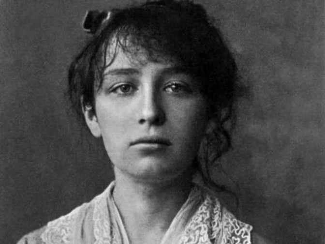 A dour looking Claudel circa 1884