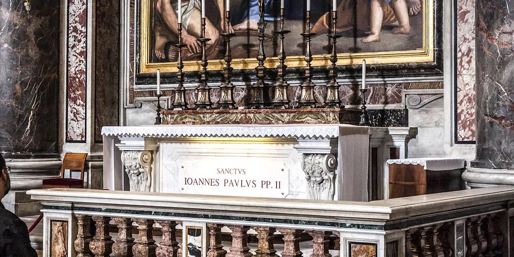 Tomb of Saint John Paul II
