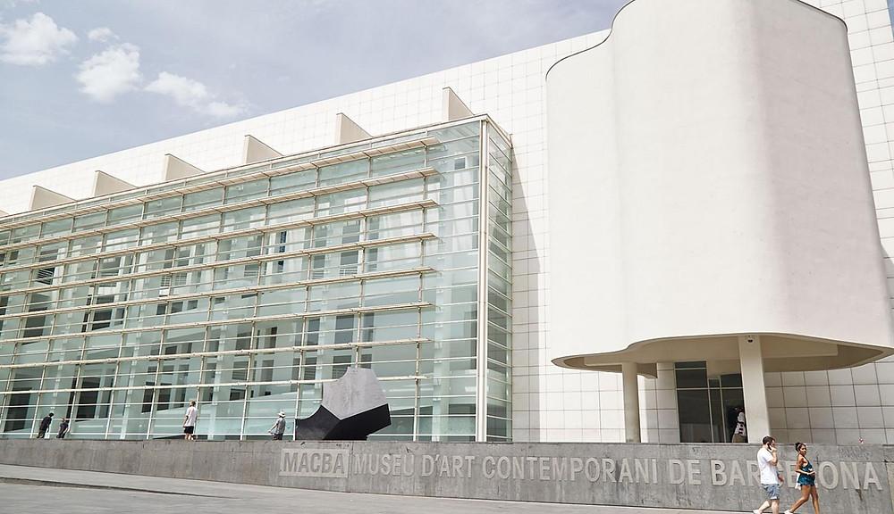 the MACBA museum in Barcelona