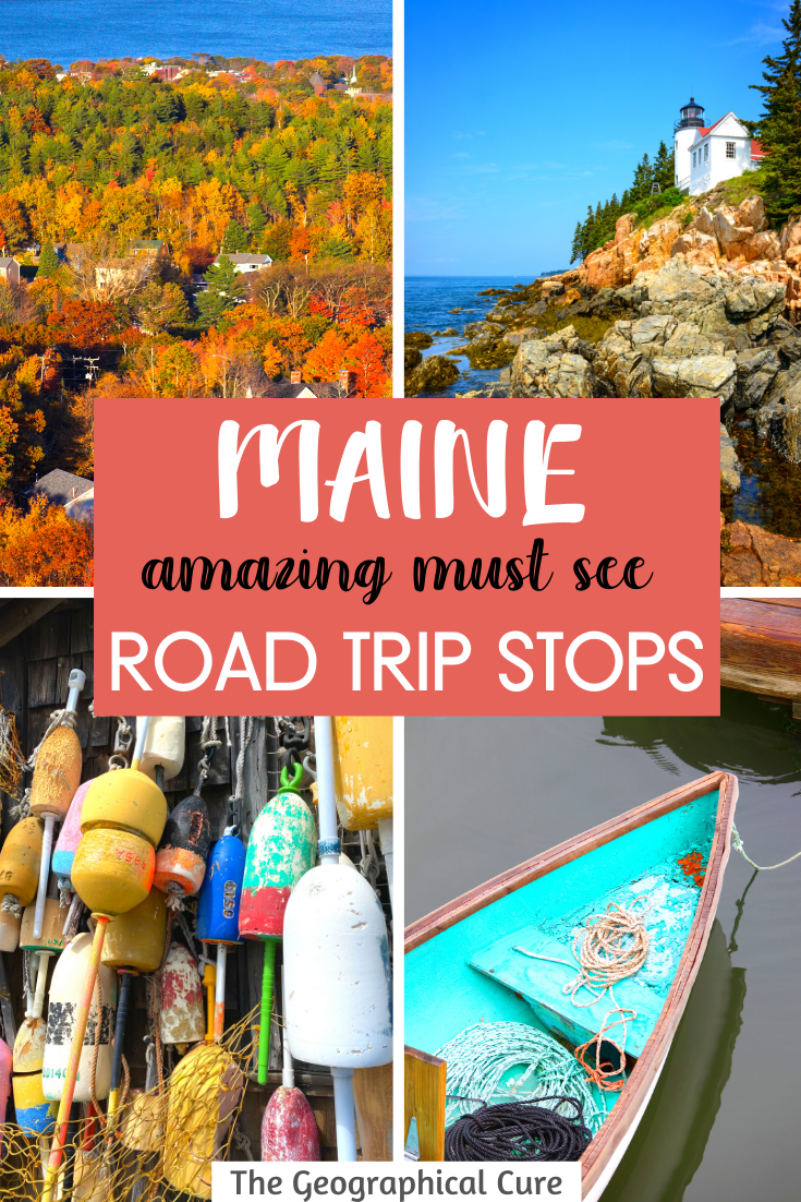 Maine: Amazing Must See Road Trip Stops