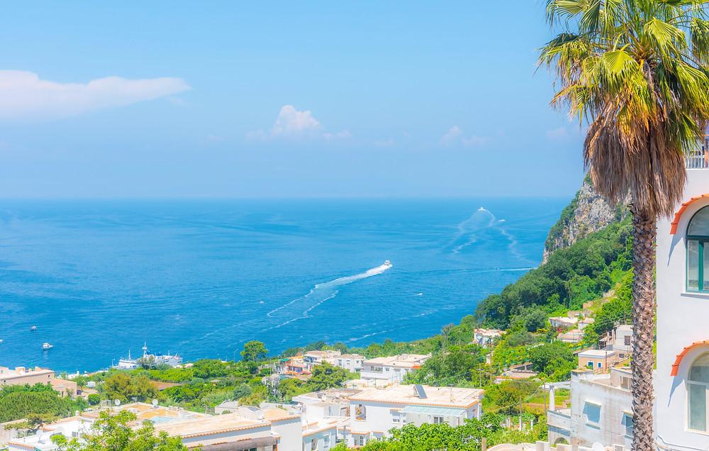 the glamorous island of Capri