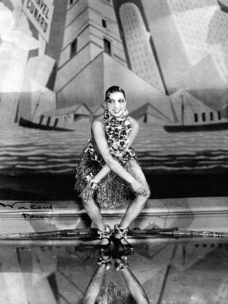 Josephine Baker, French Walery, 1926. Public domain.