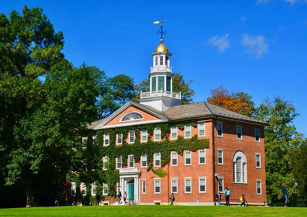 Griffin Hall at Williams College in Williamstown Massachusetts