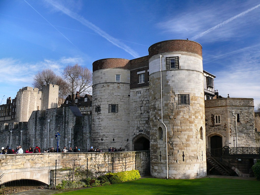 The Byword Tower, entrance to the Tower of London