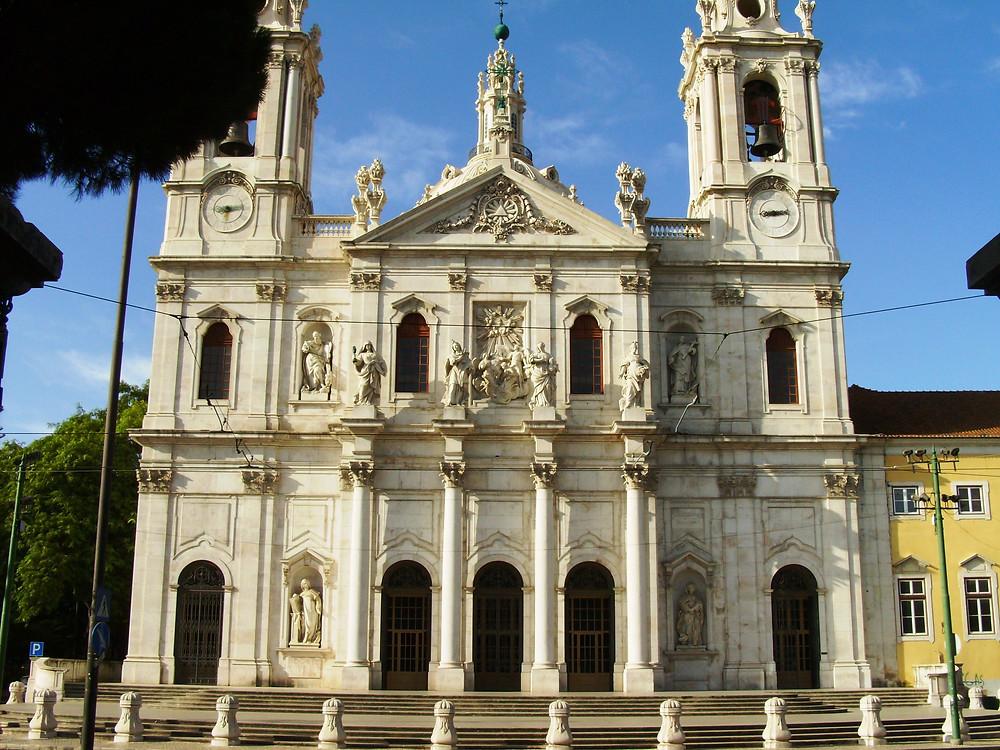Lisbon's Basilica da Estrela