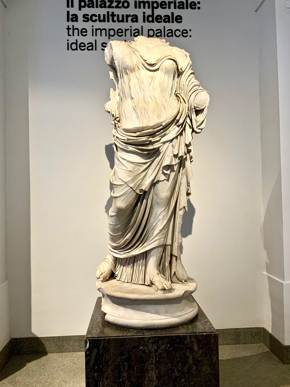 statue in the Palatine Museum