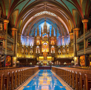 Basilica Notre Dame in Montreal
