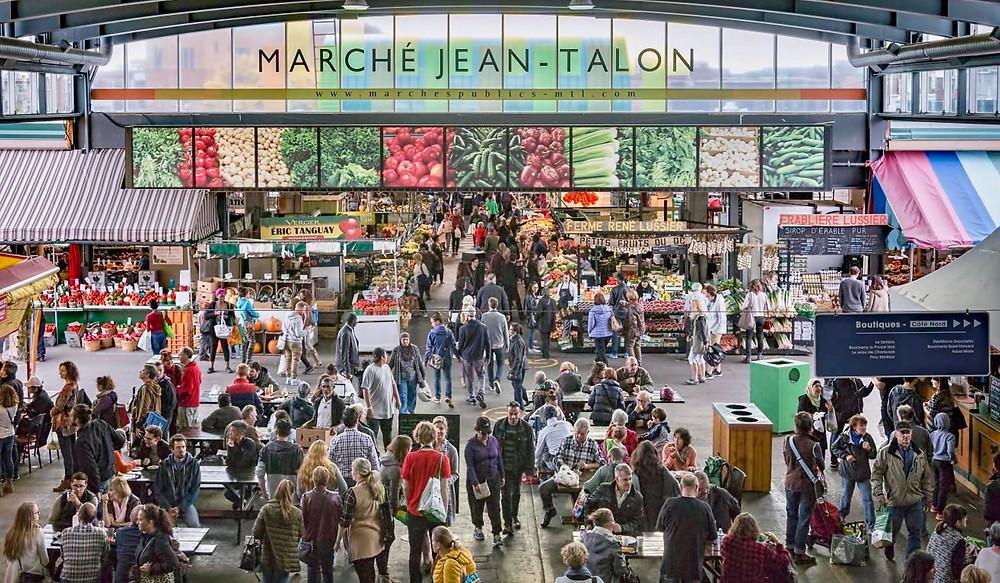 Jean Talon Market in Little Italy