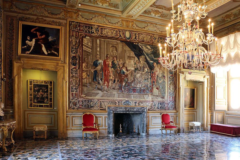 Sala della Cappella in Palazzo Colonna