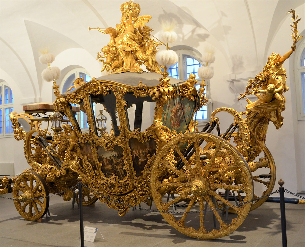 one of Mad King Ludwig's sleighs