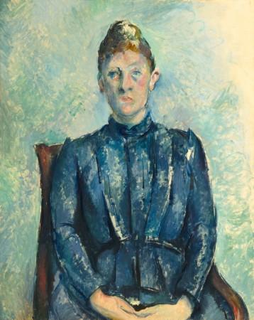 Paul Cezanne, Portrait de Madame Cézanne, circa 1890