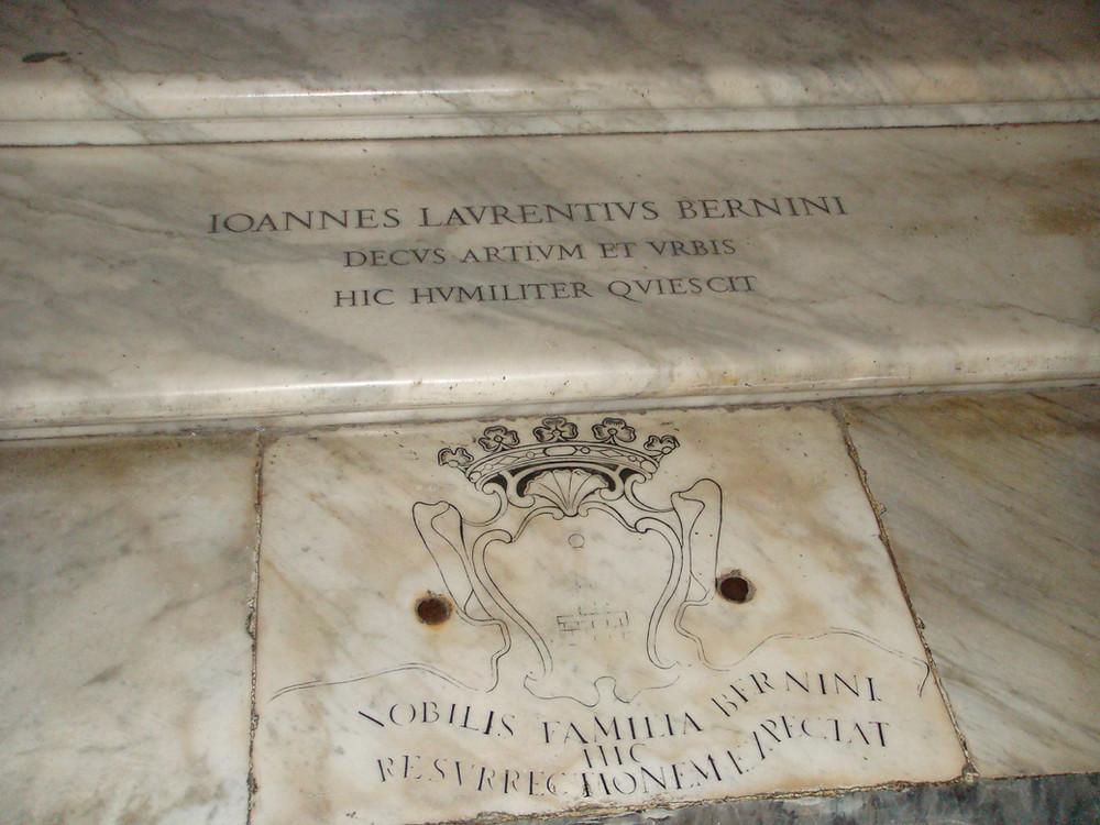 Bernini's tomb