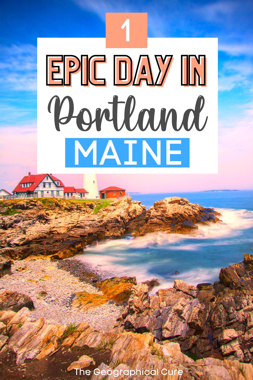 what to do and see in Portland Maine in one day