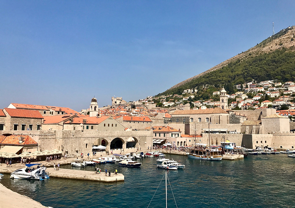 west Dubrovnik Harbor
