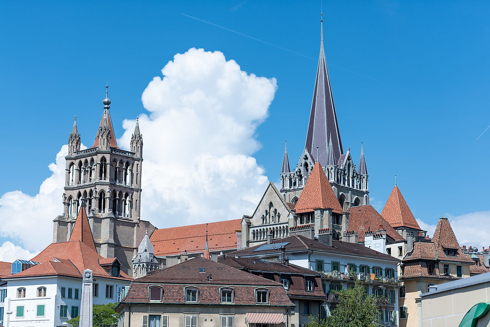 Lausanne's cathedral