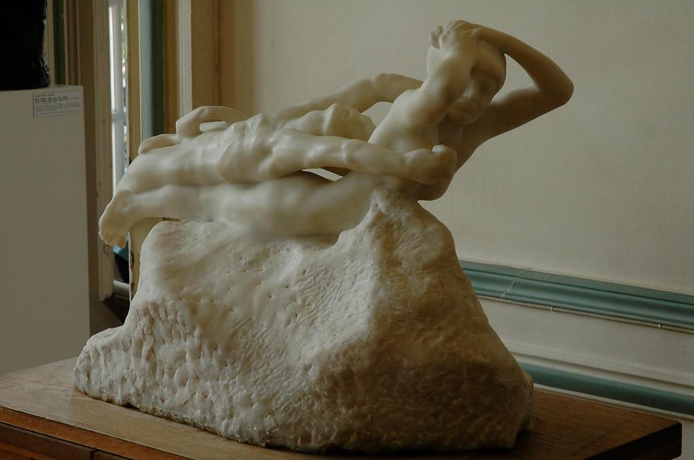 Auguste Rodin, Fugitive Love, 1887 -- in marble